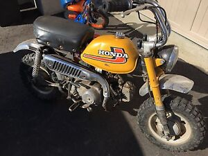 1975 Honda z50