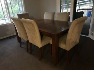 Hardwood Dining table package