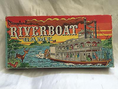 NICE VINTAGE 1960 DISNEYLAND RIVERBOAT GAME COMPLETE IN BOX BY PARKER BROTHERS