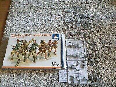 Italeri 1/35 military model kits WWII Italian Attack Troops #305