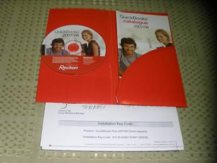 Quickbooks Reckon CD
