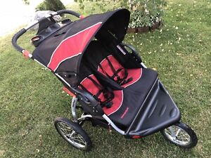 Baby Trend Expedition Double Stroller Jogger