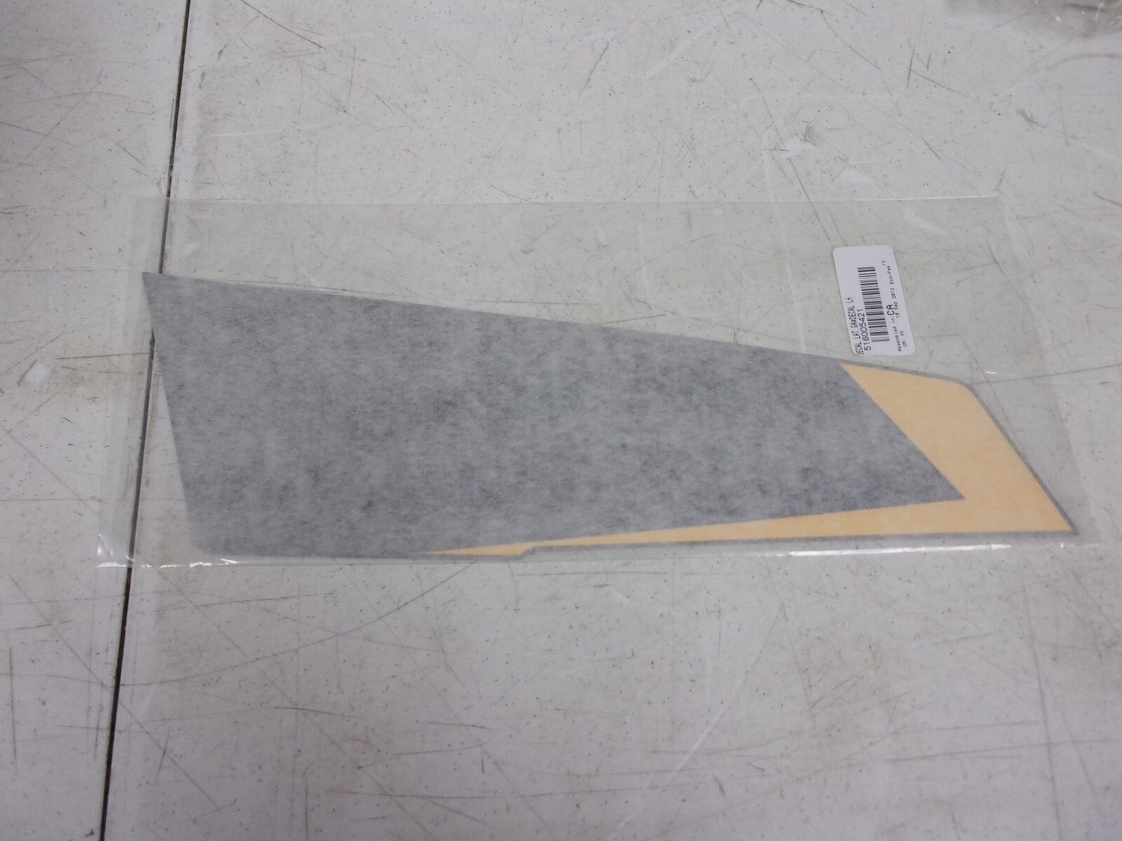 Ski-doo Snowmobile LH Side Decal 516005421