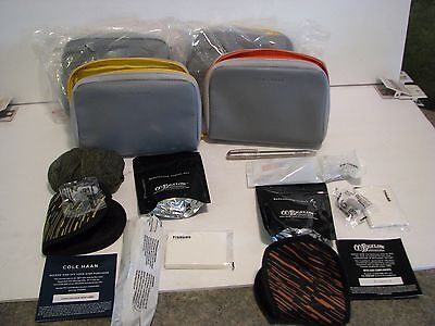 Cole Haan American Airlines international Business Class amenity kits lot  4