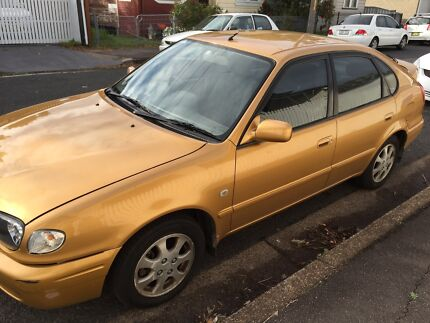 2000 Toyota Corolla Ultima AE112B Auto Islington Newcastle Area Preview