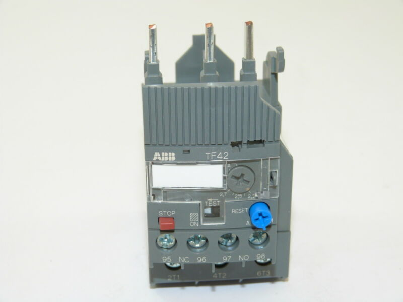 ABB TF42-3.1 Thermal Overload Relay 2.3-3.1a NEW 1yr Warranty
