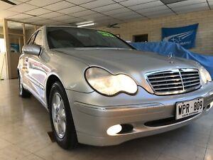 2001 Mercedes-Benz C200 Sedan Grange Charles Sturt Area Preview