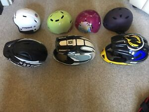 Helmets for Bikes,Scooters and Skateboards
