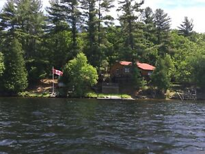 Belmont Lake Island Cottage- Fishing Boat Included