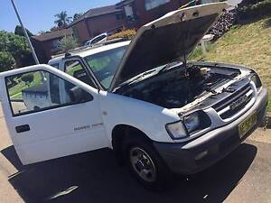 2001 Holden Rodeo Ute REGO LOW KM Liverpool Liverpool Area Preview