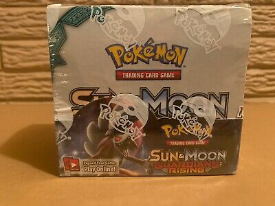 Pokemon TCG Sun & Moon Guardians Rising Booster Box 36 Packs NEW SEALED