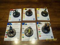 NOWHERE Crucible Great Hall Heroclix Teen Titans set OP Kit 2-Sided Map