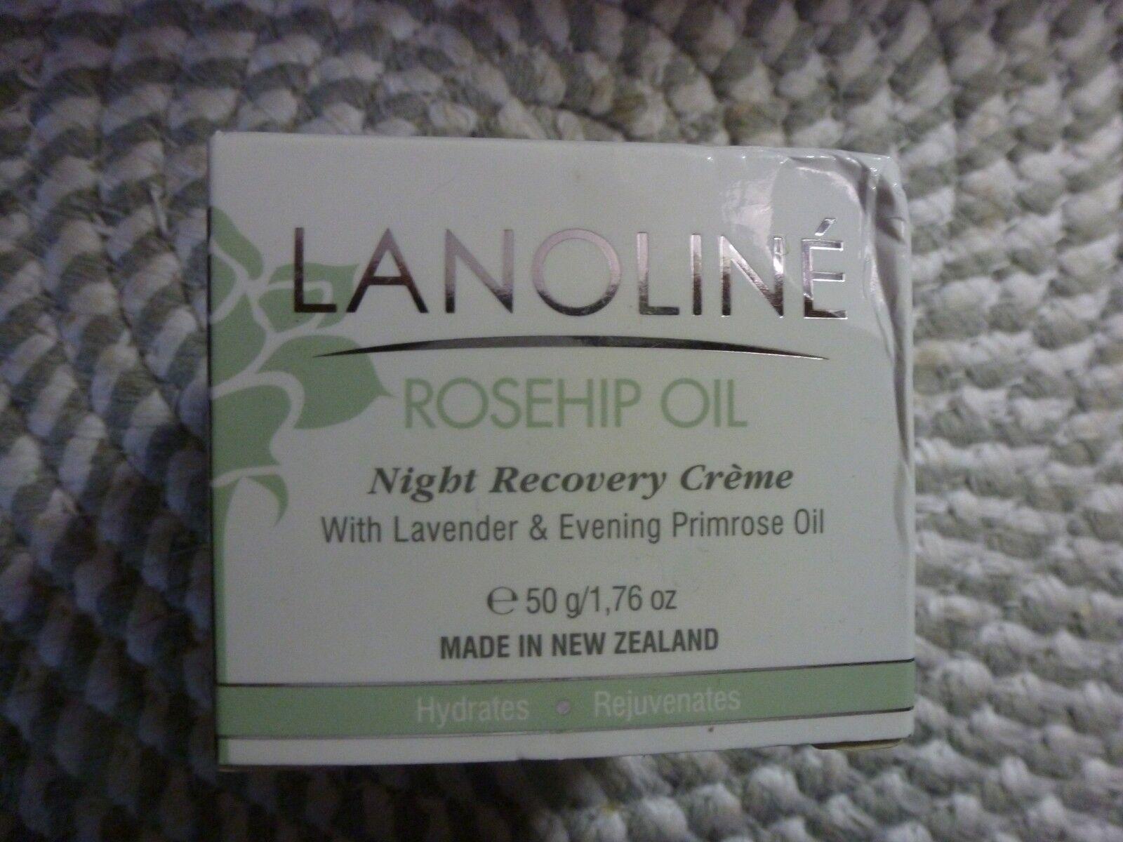Lanoline Rosehip Oil Night Recovery Creme - Hydrating Cream