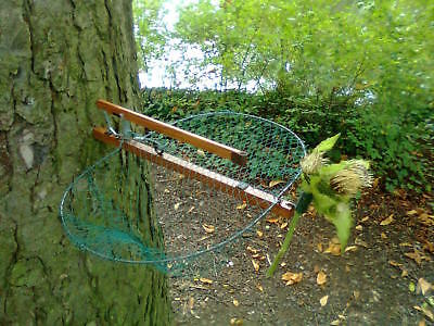 Trampa Red Pajaros Aves Jaula Piege Oiseaux Bird Net Trap Anillamiento 25cm