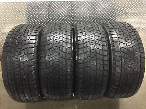 4 tires / 4 pneus P 275 55 R20 Bridgestone Blizzak