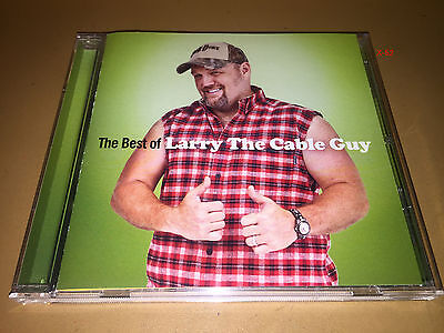 BEST of LARRY THE CABLE GUY hits CD poop lasagna wife swap hooters airlines