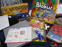 Board games 3 Pictionary, Blokus and checkers. Pakenham Cardinia Area Preview