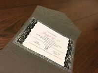 Wedding Invitations and more! Buy local!