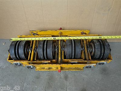 Surplus Continental Conveyor Four Roller Adjustable Idler Group