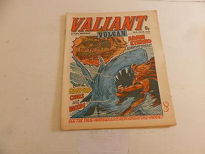 VALIANT & VULCAN Comic - Date 10/07/1976 - IPC UK Comic