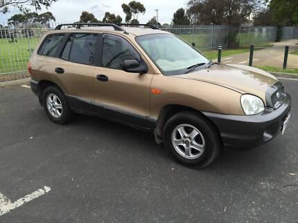 2003 Hyundai Santa Fe Wagon 12 mts reg and rwc Moorabbin Kingston Area Preview