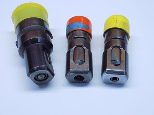 "3 Pc Huck Lockbolt Pulling Head Set 5/32"" 3/16"" 1/4"" Aircraft Tools"