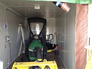 landscape/ snow removal ,John Deer   snow blower and seacan