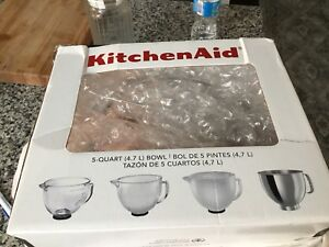 Kitchen aid Artisan stainless steel bowl 5 Qt