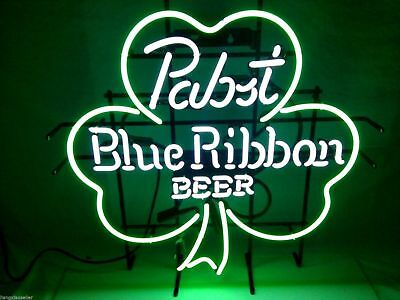 "New Pabst Blue Ribbon Beer Neon Light Sign 19""x15"" for sale  USA"
