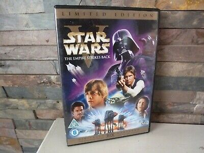 STAR WARS : EMPIRE STRIKES BACK - LIMITED EDITION DVD. UK. FAST/FREE POSTING.