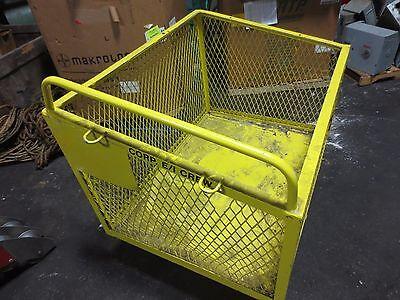 Steel Mesh Shop Factory Cart Electrician Welder Maintenance - 48 X 36 X 30