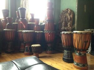 Hand drums made in Bali for Sale!