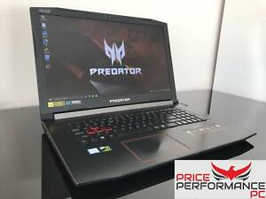 Acer Predator Helios 300 8th gen i7 gaming laptop with GTX 1060, DDR4
