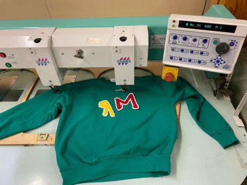 Tajima Chenille Embroidery Machine 4 Head 6 Color Automatic Chenille TMEC-604
