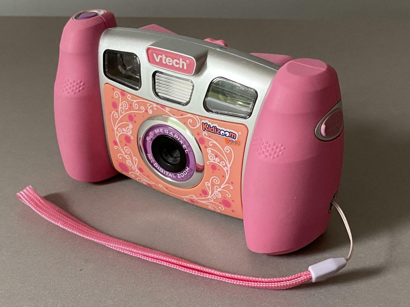 KIDIZOOM Pro vtech Digital-Kamera für Kinder, Speicher, 10 Min Film,Video-Spiele