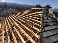 Sloped roofing helper in Kelowna