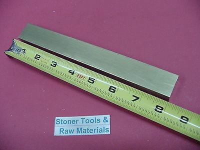 12 X 1 C360 Brass Flat Bar 8 Long Solid Mill Stock H02 .50x 1.00x 8