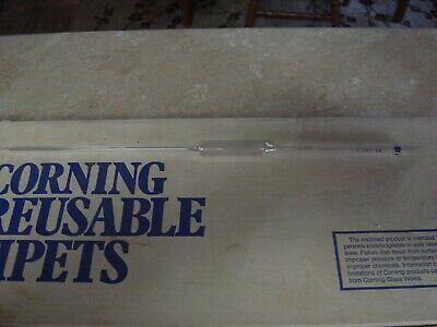 Pyrex Corning Pipet Reusable Glass 25 Ml Vol Nos