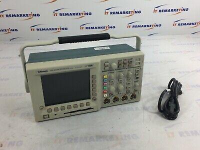 Tektronix Tds 3054b Fourchannel Color Digital Phosphor Oscilloscope Wpower Cord