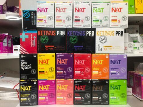 Pruvit Keto OS MAX NAT Ketones Various Flavors New Box Sealed FreeShipping!!!