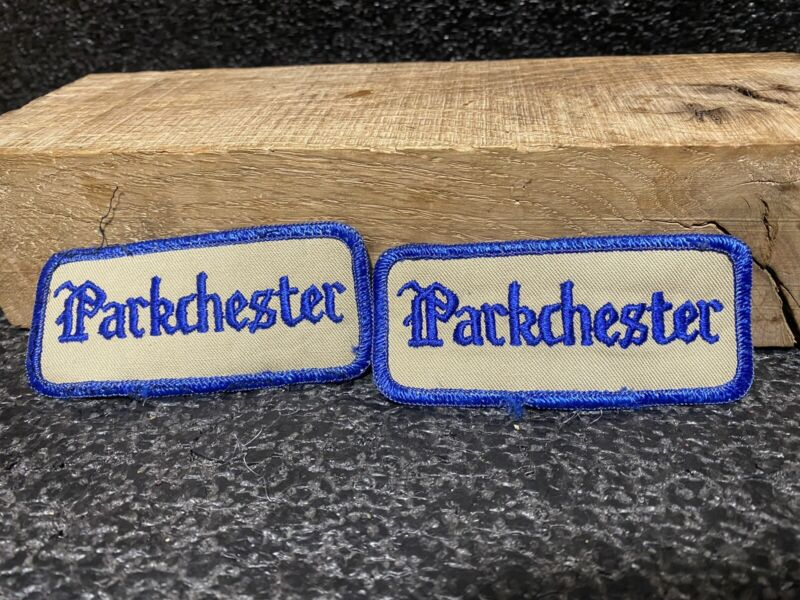 New York City Parkchester Patch Embroidered Lot Of 2