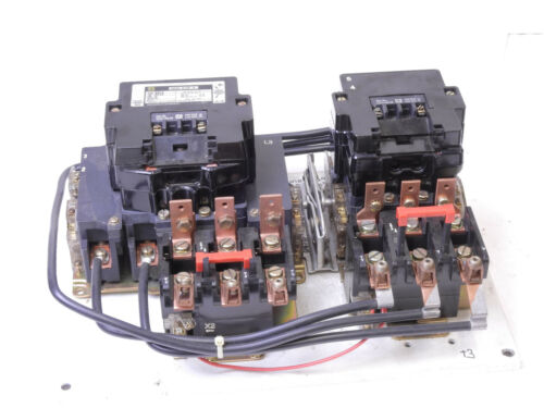 Square D 8810 SE02 Multi-Speed Motor Starter Size 3 50HP 600V 31077-500-52-801