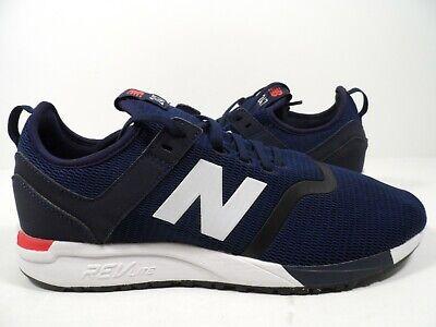 New Balance Men's 247 Sneaker Decon Blue/White Size 13