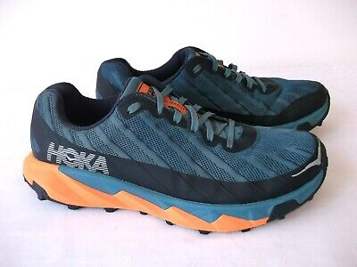 MENS HOKA ONE ONE TORRENT TRAIL RUNNING TRAINERS 9 UK WORN ONCE EXCELLENT