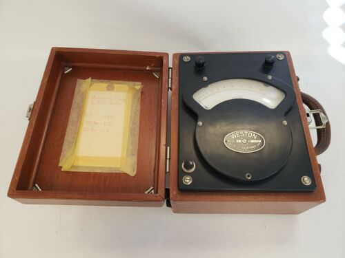 * Weston 341 Vintage Voltmeter
