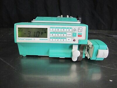 B Braun Perfusor Compact S Transportable Infusion Pump With Pole Clamp
