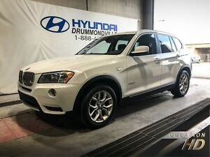 BMW X3 XDRIVE28I +TOIT PANO + MAGS + CUIR + BLUETOOTH + WOW !