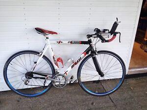 Triathlon Massi CM3000 bike aluminum carbon fork