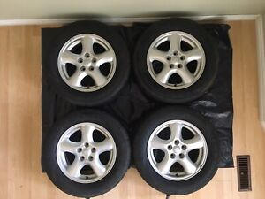 "Taurus-Windstar-Sable-rims & ""NEW"" 215/60/16"" Coopers. $375."
