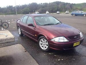 FALCON FORD AU 2001 SR Mount Ousley Wollongong Area Preview